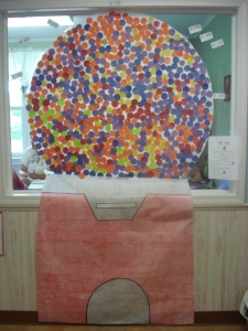 The Hamburg EduKids Children Filled the Gumball Machine in Record Time!